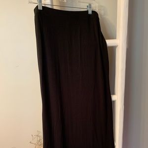 Black Maxi Skirt MP